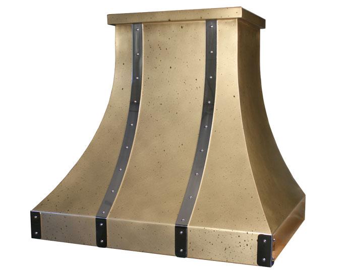 Brass Range Hood Custom Brass Range Hoods Vogler