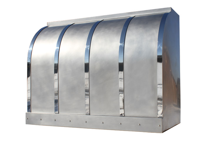 Custom Stainless Steel Range Hood Custom Stainless Steel Range Hood ...