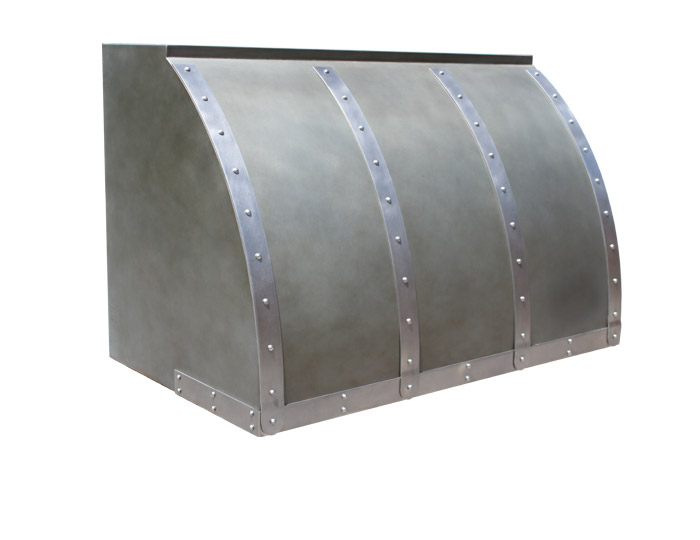 Zinc Kitchen Hood
