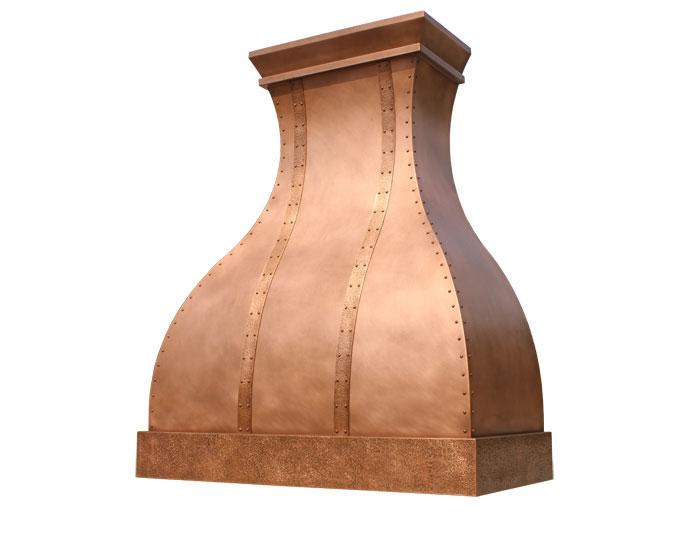 arabella custom range hood - Copper Range Hoods