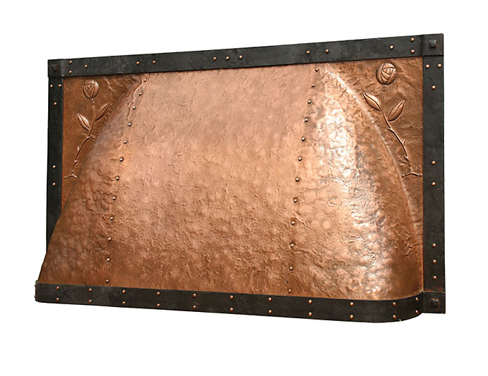 Relatively Custom Fireplace Hoods | Copper, Steel, Hand Forged, Bronze, Brass  GE18