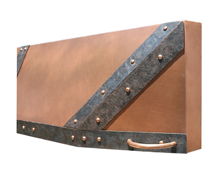 Custom Fireplace Hoods Copper Steel Hand Forged Bronze Brass