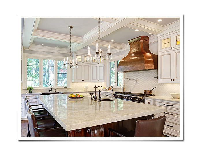 Good Custom Range Hood In Copper