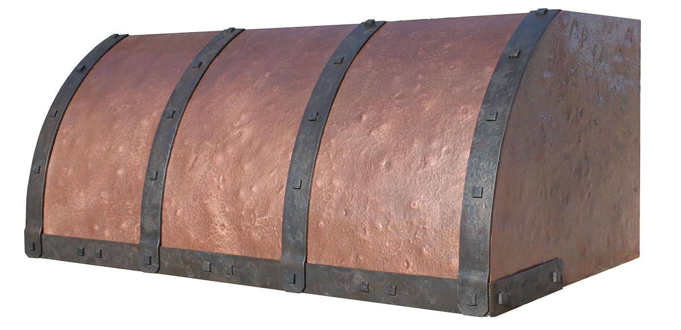 Copper Range Hood Scott