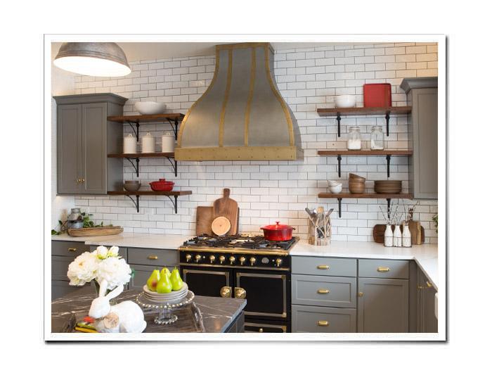 Zinc Range Hoods | Custom Zinc Range Hoods & Kitchen ...