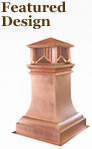 Featured Copper Chimney Pot